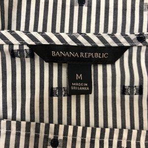 Banana Republic Tops - Banana Republic bell sleeves striped blouse - M